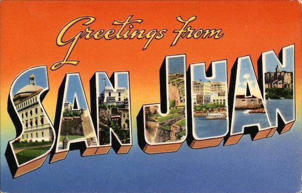 Greetings from san juan puerto rico greetings from san juan greetings from san juan puerto rico m4hsunfo