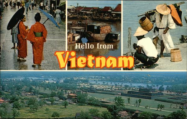 Hello from Vietnam Southeast Asia