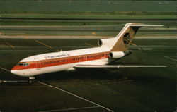 Continental Airlines Boeing 727-22