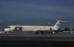 AOM French Airlines - McDonnell Douglas MD-83