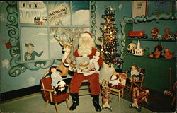 Santa Claus at Santa Claus Land