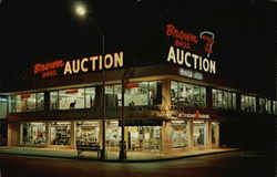 Brown Brothers Auction Postcard