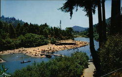 Rio Nido Beach, Russian River