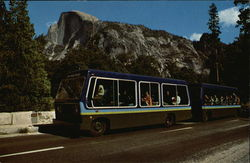 The Valley Shuttle Bus, Yosemite National Park