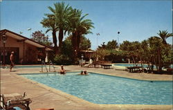 Pool area of the Palm Desert Country Club