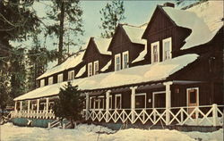 Mother Lode Country, Pinecrest Lodge in skiing season