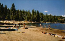 Beach at Pinecrest Lake