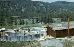 Swimming Pool Near Marleeville, Calif