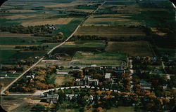 Concordia Teachers College, Aerial View