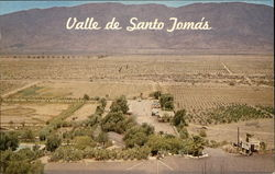 Valle de Santo Tomas, The Valley of Santo Tomas