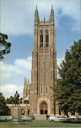 The Chapel at Duke University Postcard