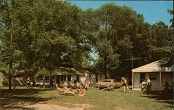 Peck's Vacation Cottages Postcard