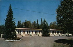 Flood Bay Motel and Cabins Postcard