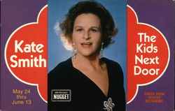 Kate Smith and The Kids Next Door Postcard