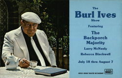 The Burl Ives Show at the Circus Room Theater Restaurant