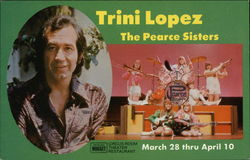 Trini Lopez and The Pearce Sisters