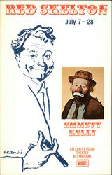 Red Skelton at Celebrity Room Theater Restaurant