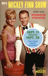 NBC's Mickey Finn Show Guest Star Poncie Poncie