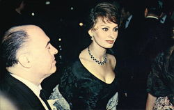 Sophia Loren and Husband Carlo Ponti