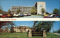 Irwin Army Hospital, Headquarters Building, Fort Riley, Kansas