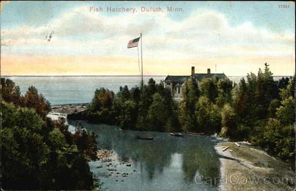 Fish Hatchery Duluth Minnesota