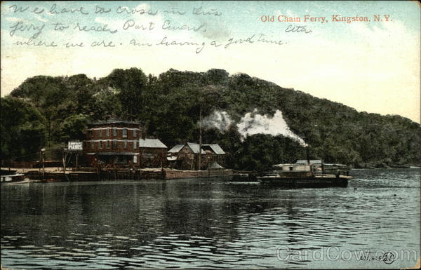 Old Chain Ferry Kingston New York
