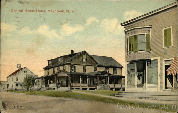 Central House Hotel Maybrook New York