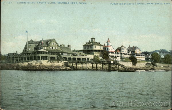 Corinthian Yacht Club, Marblehead Neck Massachusetts