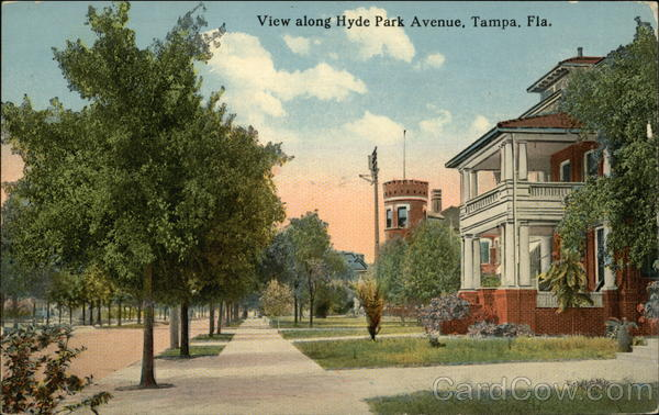 Hyde Park Avenue Tampa Florida