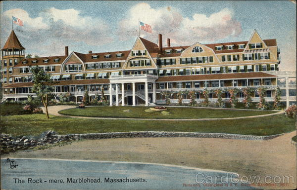 The Rock-mere Marblehead Massachusetts