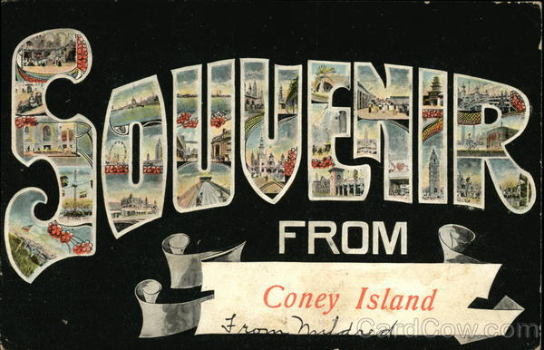 Souvenir from Coney Island New York