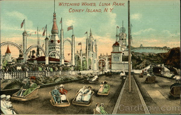 Witching Waves, Luna Park Coney Island New York