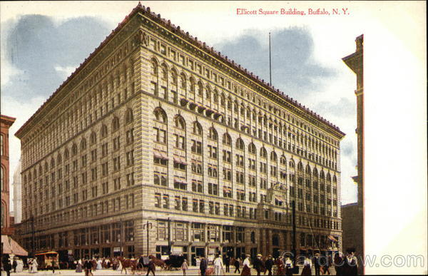 Ellicott Square Building Buffalo New York