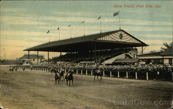 Race Track Fort Erie Canada Ontario