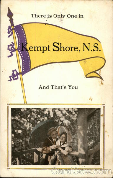 There is Only One in Kempt Shore, N.S. and That's You Canada