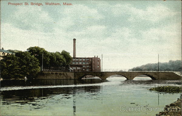 Prospect St. Bridge Waltham Massachusetts