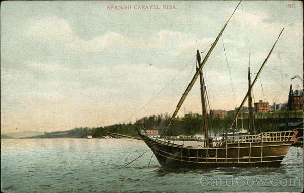 Spanish Caravel Nina Boats, Ships