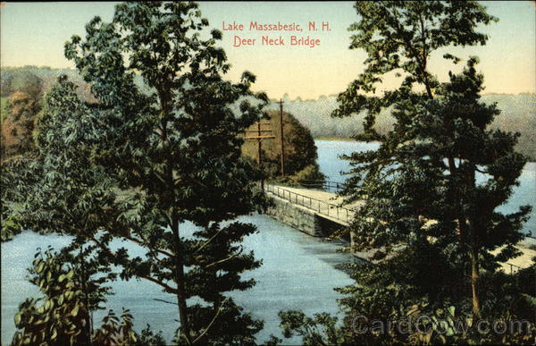 Lake Massabesic, Deer Neck Bridge Auburn New Hampshire