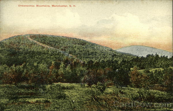 Uncanoonuc Mountains Manchester New Hampshire