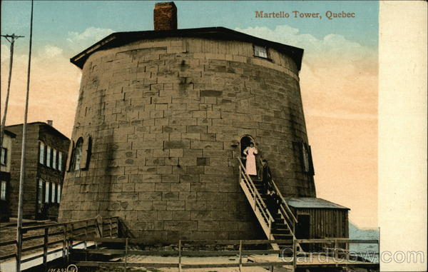 Martello Tower Canada Quebec