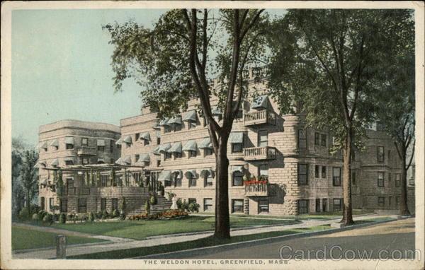 The Weldon Hotel Greenfield Machusetts
