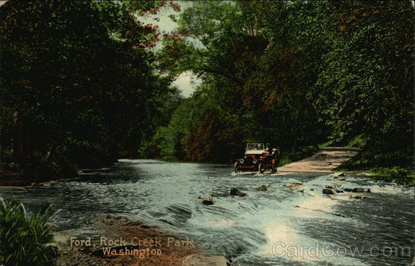Ford, Rock Creek Park Washington District of Columbia