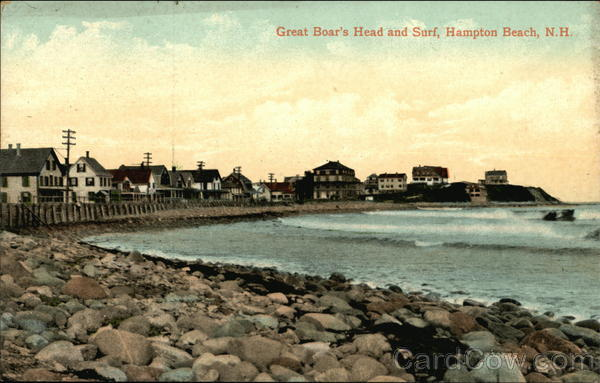 Great Boar's Head and Surf Hampton Beach New Hampshire