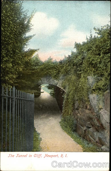 The Tunnel in Cliff Newport Rhode Island