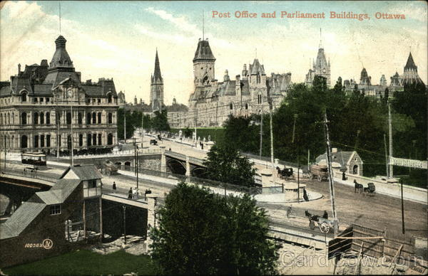 Post Office and Parliament Buildings Ottawa Canada