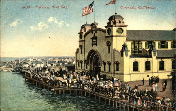 Pavilion, Tent City Coronado California