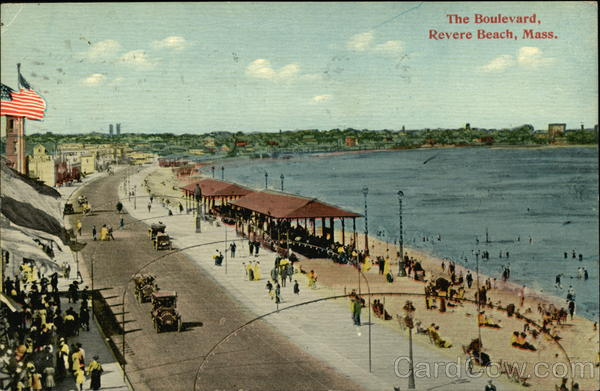 The Boulevard Revere Beach Massachusetts