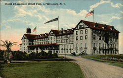 Hotel Champlain, Bluff Point