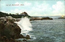 Surf Off Marblehead, Mass