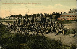 Detachment at Rest, Stacked Arms, Fort Slocum